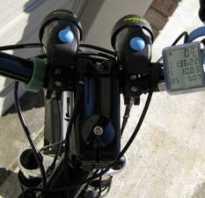 Бортовой компьютер на велосипед