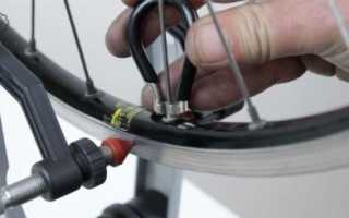 Замена спиц на заднем колесе велосипеда