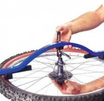 Протяжка спиц на велосипеде
