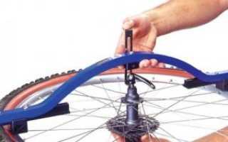 Регулировка спиц на велосипеде