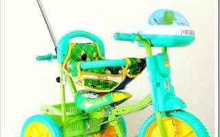 Как собрать трехколесный велосипед
