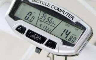 Установка спидометра на велосипед