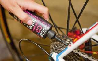 Как правильно смазать цепь на велосипеде